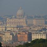 vatican vu de la terrasse