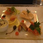 beautifully presented starter