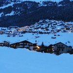view of Livigno from Chalet