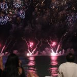 We watched the Honolulu Festival fireworks right on the beach in front of hotel!