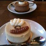 Premier plan : Crème de marron / Fleur d'oranger. Au second plan : Nutella