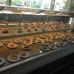 Snacks in the lounge bar near reception