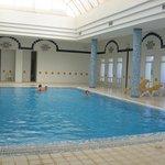 piscine intérieuere chauffée