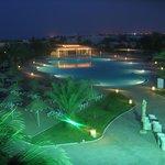 espace piscine ext de nuit