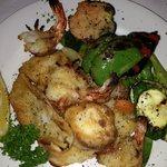 Poseidon Platter (calamari, Fish, Scallops - unbelievable)