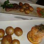 steak - salmone alla griglia
