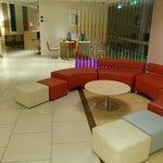 Lobby area at Ibis Centrum