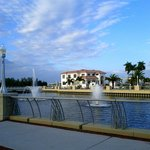 Park With Fountains in Fort Myers Downtown