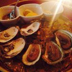 That was a starter: Oysters ��