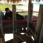 Crow's nest in the Palapa