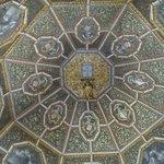 La maravilla de decoración de esta cúpula
