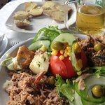 Delicious Tuna Salad with Canarian Potatoes