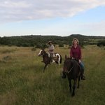 Riding in wide open spaces