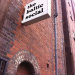 Baltic Social sign