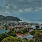 View of Fish Hoek from our bedroom