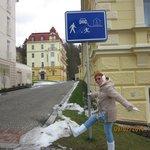 Интересный знак в курортной зоне.