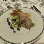 Braised partridge Falmande