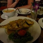 Jack-fish and vegetable curry - very tasty!