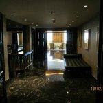 Corridor to Presidential Suite