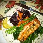 Yummy Salmon Dinner