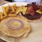 Classic hamburger con bacon 350gms