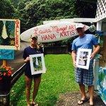 Laura Mango's roadside gallery