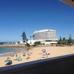 beach infront