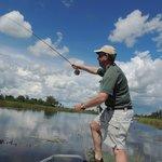 fly fishing the okavano