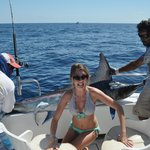 One of ten marlin caught (and released)