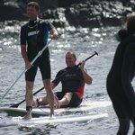 pro love2paddle surfers in el cotillo
