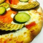 Piadipizza con verdure grigliate