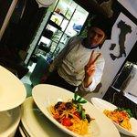 Antonio loves what he cooks