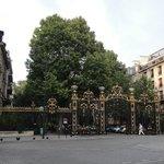 ворота парка Монсо