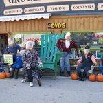Scarecrow contest winners