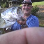 Large Mouth Bass caught on Lake