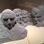 Mount Rushmore in Lego