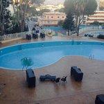 the empty pools !