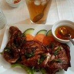 Chicken grill w Iced Tea