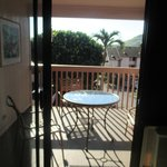 View out sliding door/balcony