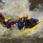 Maw of Death Rapid on the Blast of Whitewater Trip