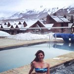 Jacuzzi after a long day of skiing!