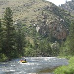 """Colorado's only National """"Wild & Scenic"""" River."""