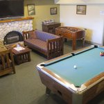 The Games Room in the Clubhouse