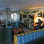 Inside Lodge.