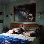 Coast Salish King bedroom
