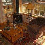 Coast Salish suite living area