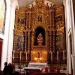 ein Altar in der Kathedrale