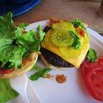 delish lean burger