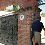 Entrance to Casa Luz is gated - you have a code to enter.