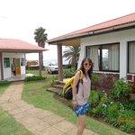 Entrada hotel desde orilla de mar
